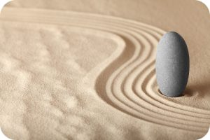 Stone in Sand